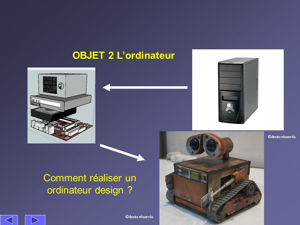 Comment réaliser un ordinateur design