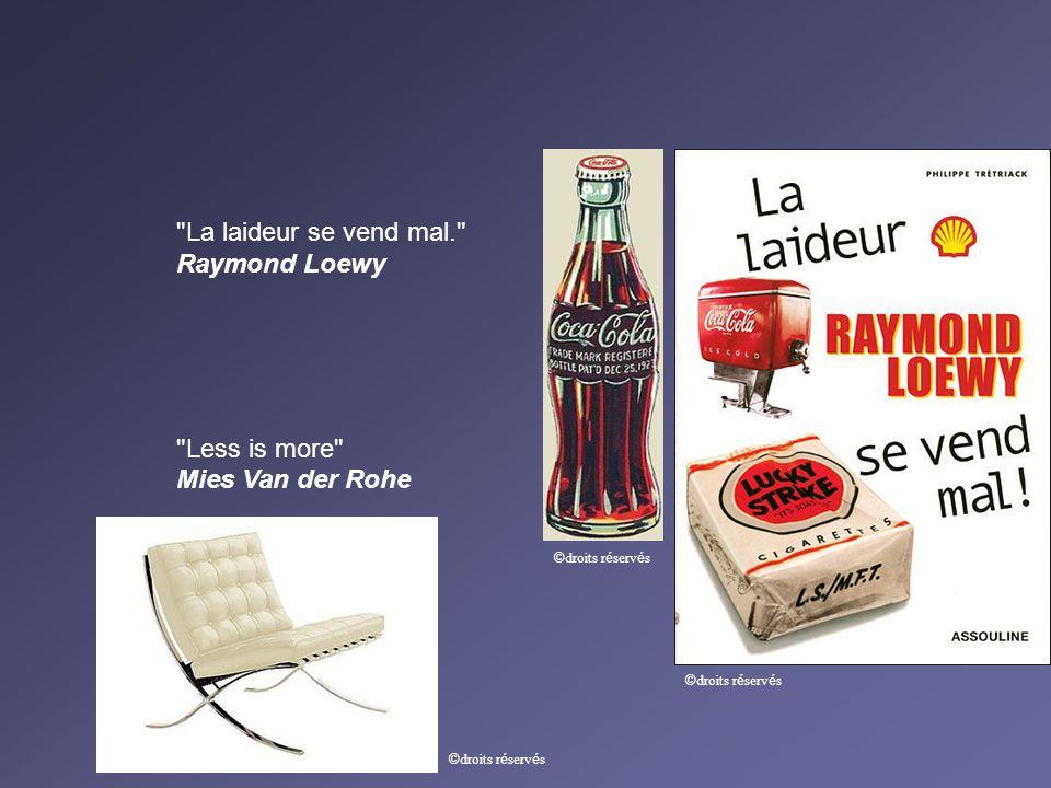 La laideur se vend mal. Raymond Loewy