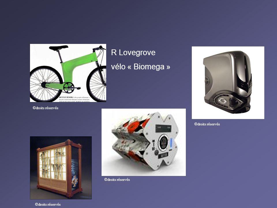 R Lovegrove vélo « Biomega » ©droits réservés ©droits réservés