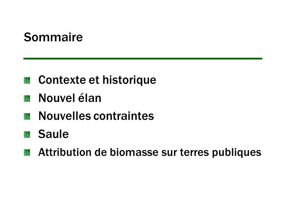 Sommaire Contexte et historique Nouvel élan Nouvelles contraintes