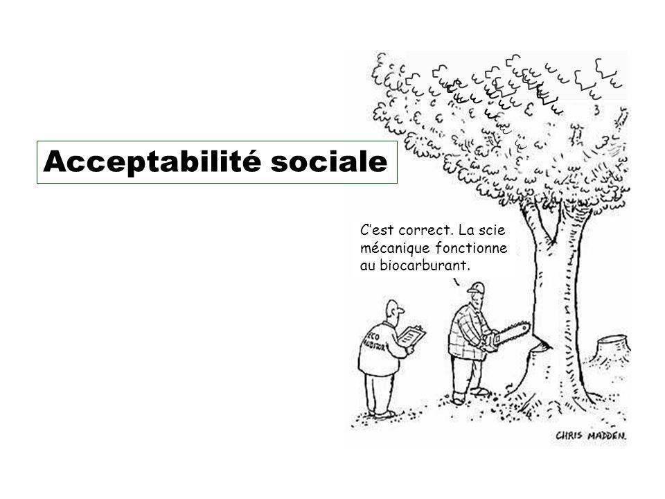 Acceptabilité sociale
