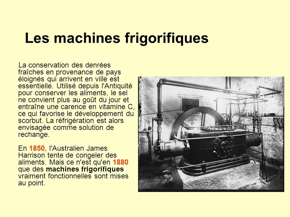 Les machines frigorifiques