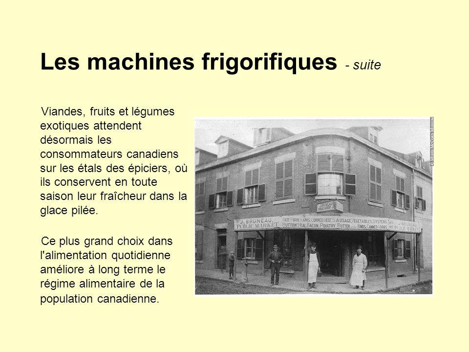 Les machines frigorifiques - suite