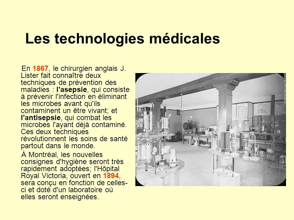 Les technologies médicales