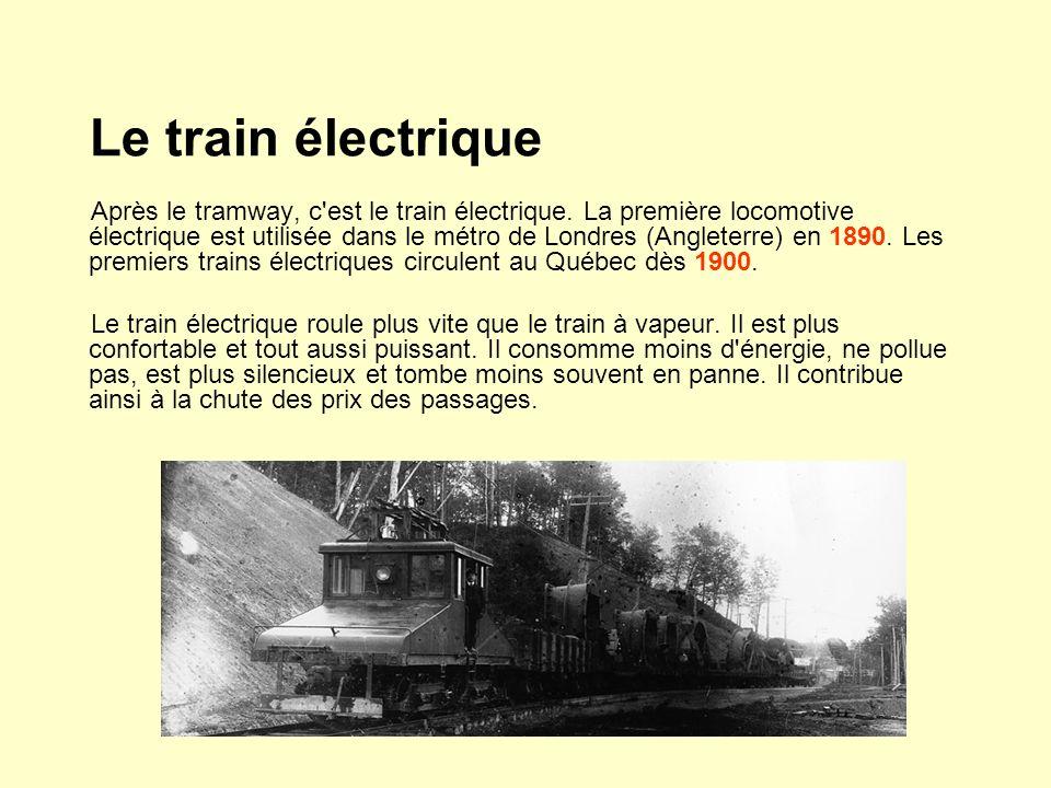 Le train électrique