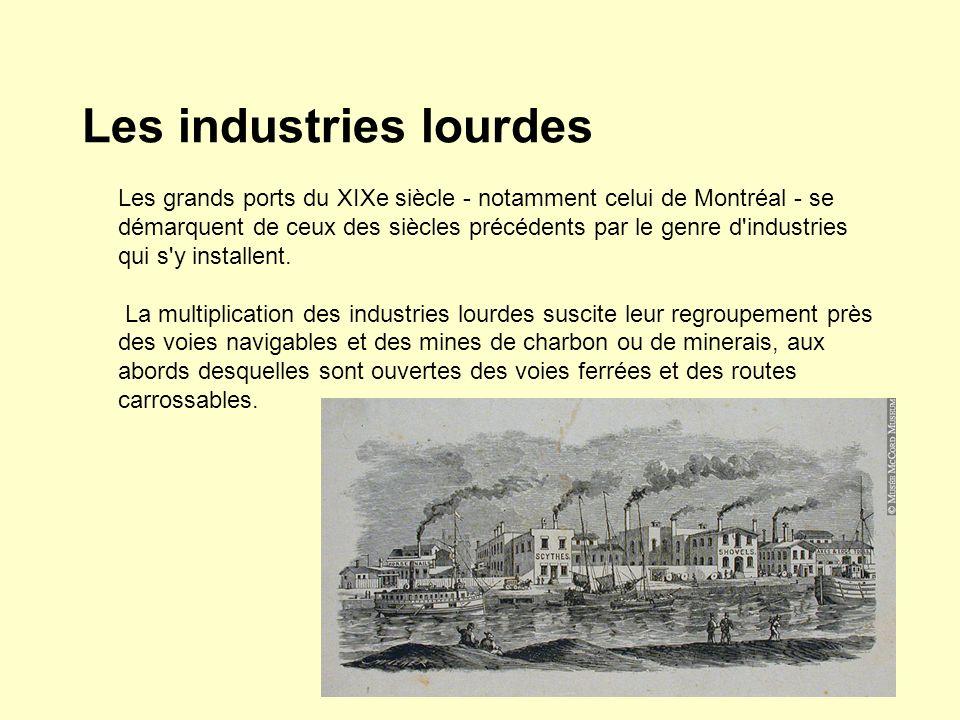 Les industries lourdes