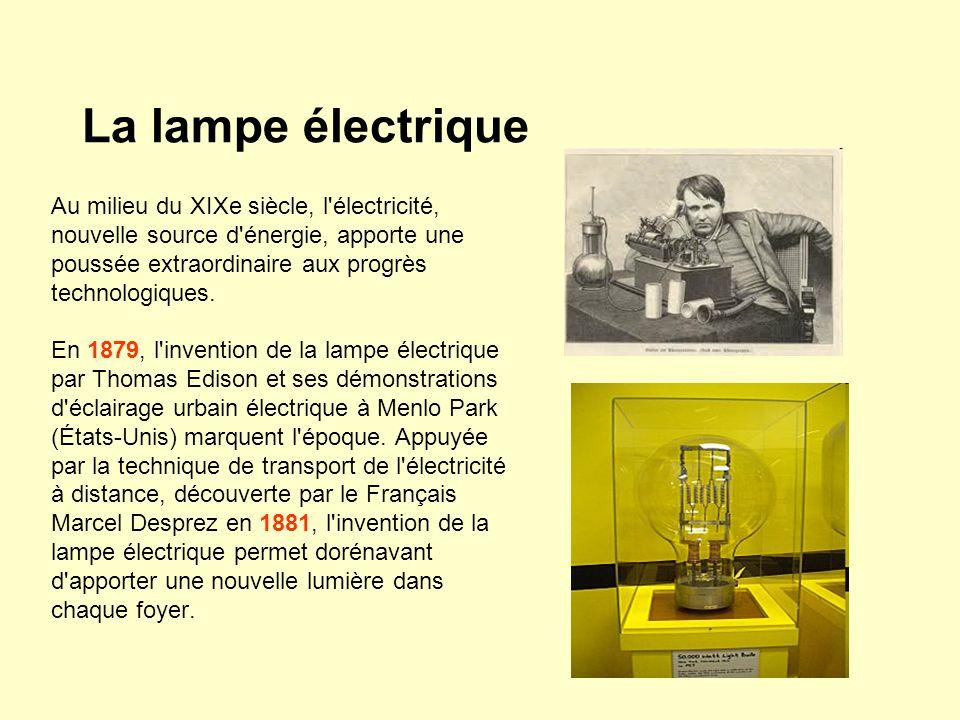 La lampe électrique