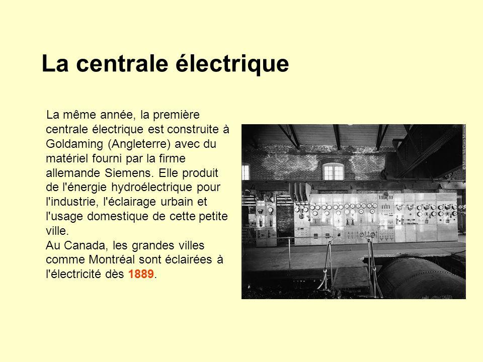 La centrale électrique