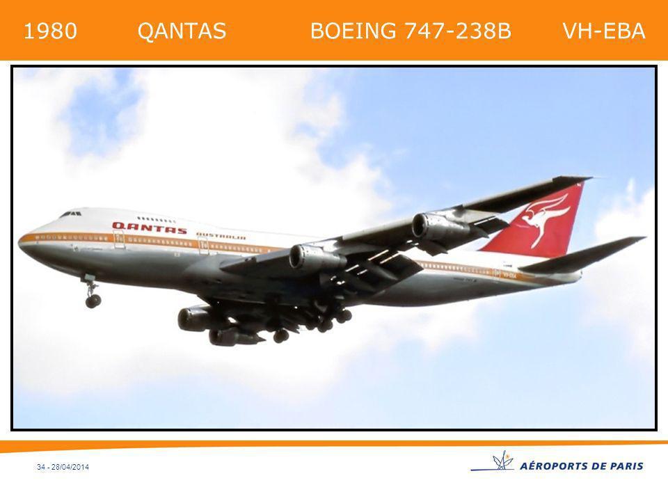 1980 QANTAS BOEING 747-238B VH-EBA