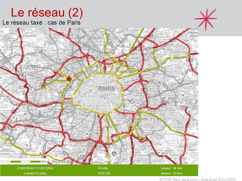 Le réseau (2) Le réseau taxé : cas de Paris