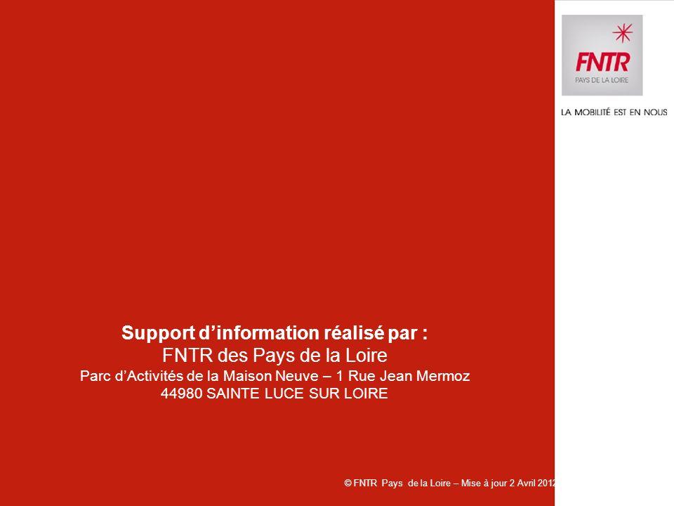 Support d'information réalisé par :