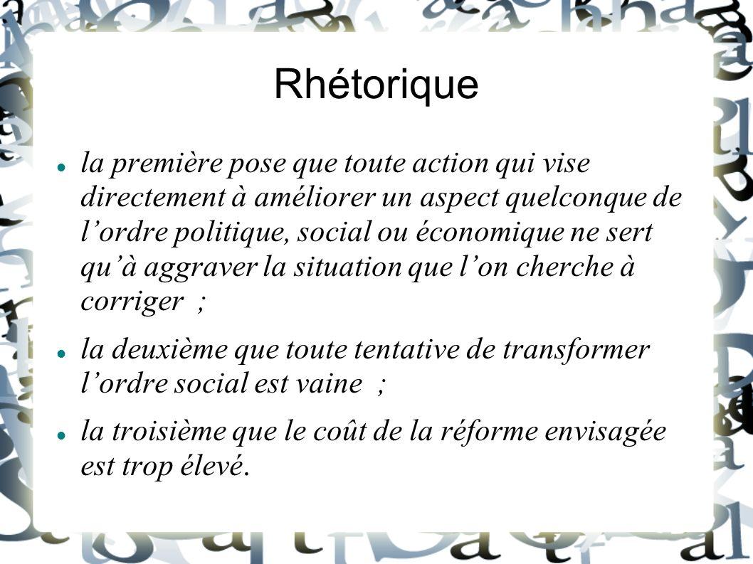 Rhétorique