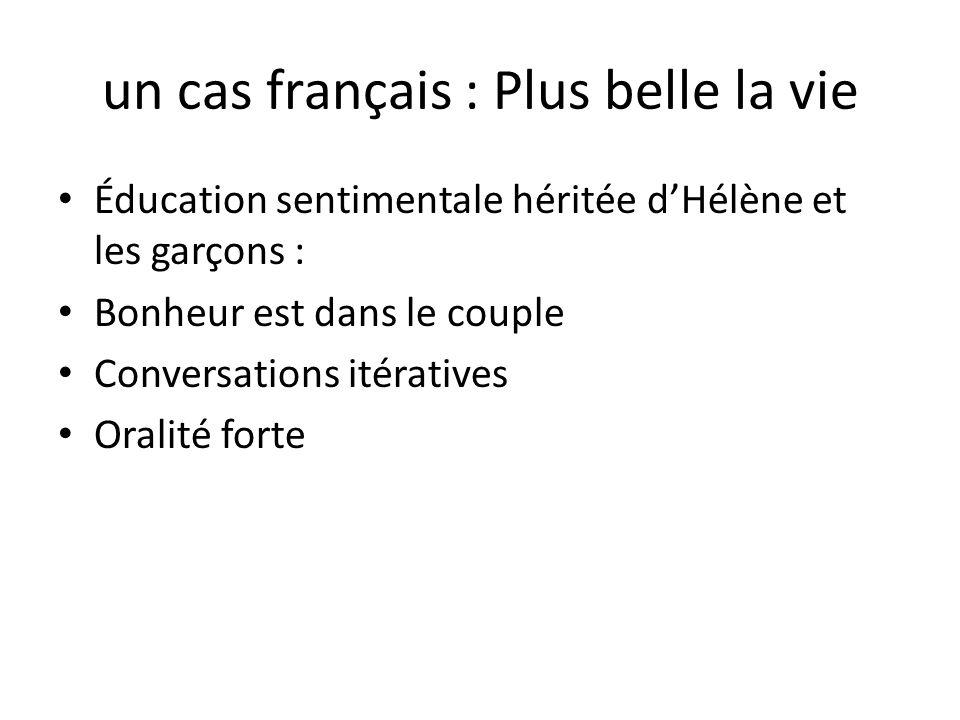 un cas français : Plus belle la vie