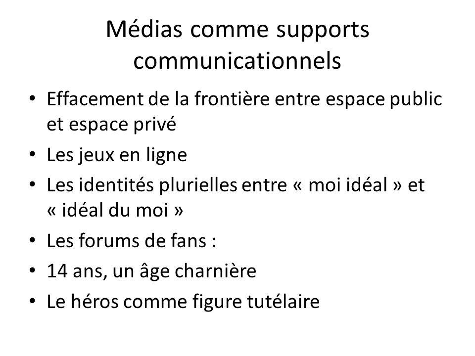 Médias comme supports communicationnels