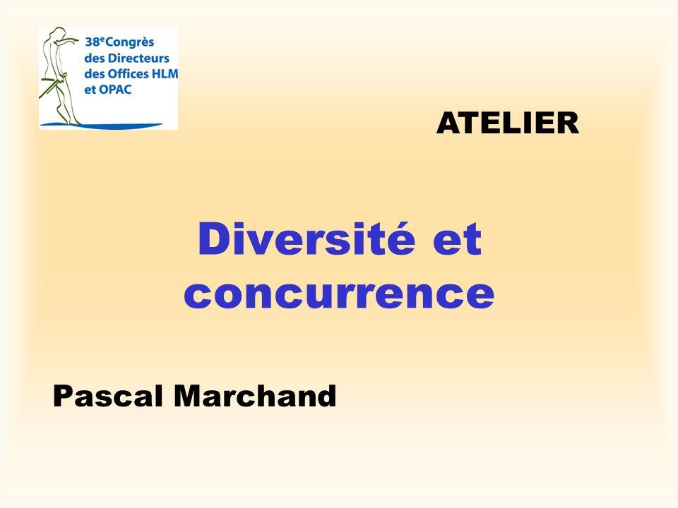 Diversité et concurrence