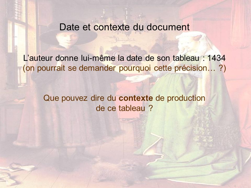 Date et contexte du document
