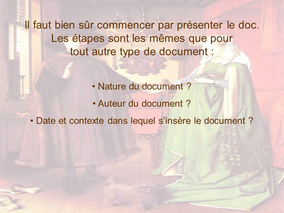 Date et contexte dans lequel s'insère le document