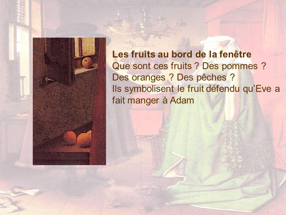 Les fruits au bord de la fenêtre