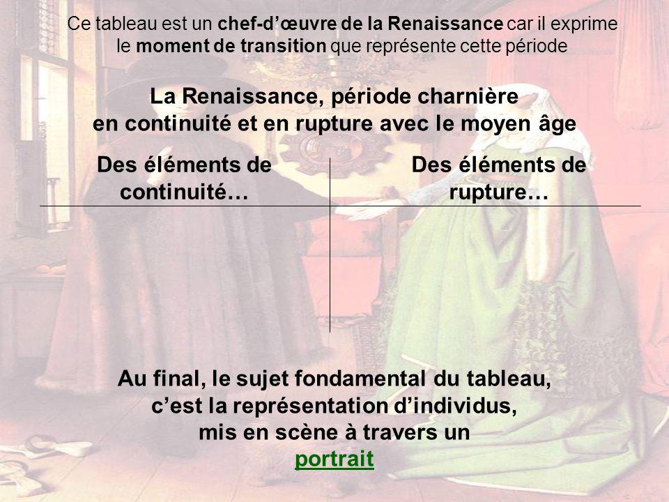 La Renaissance, période charnière