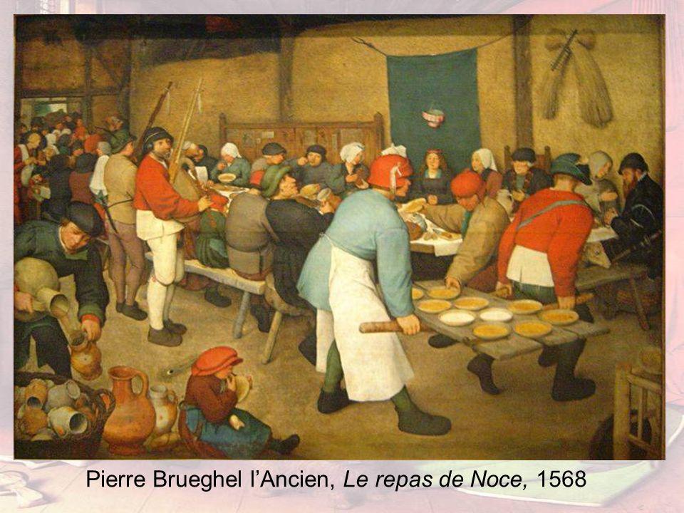 Pierre Brueghel l'Ancien, Le repas de Noce, 1568