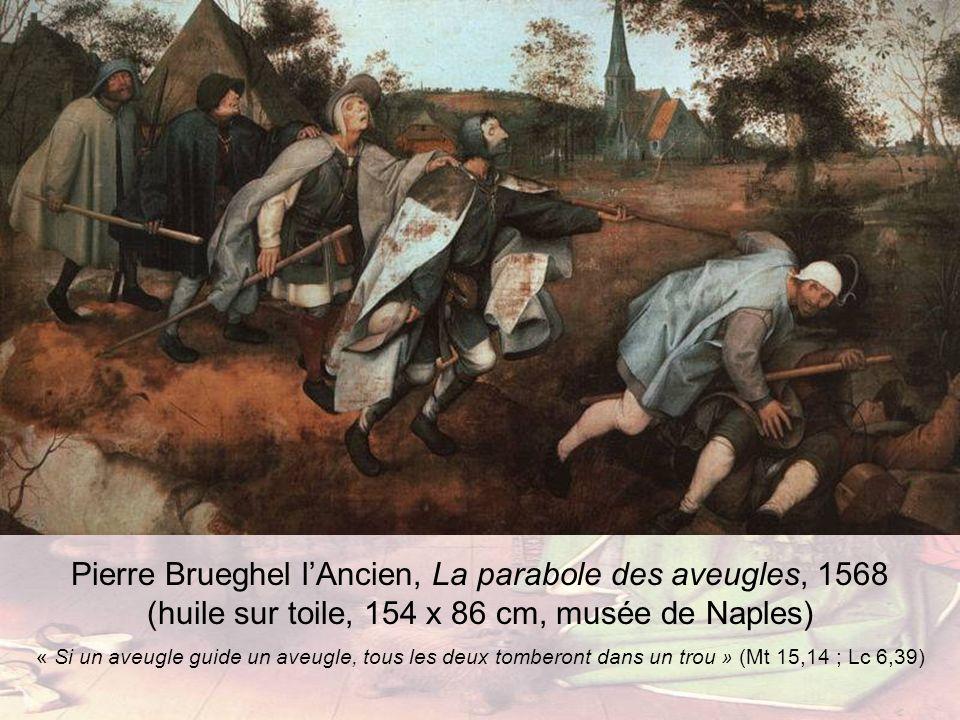Pierre Brueghel l'Ancien, La parabole des aveugles, 1568