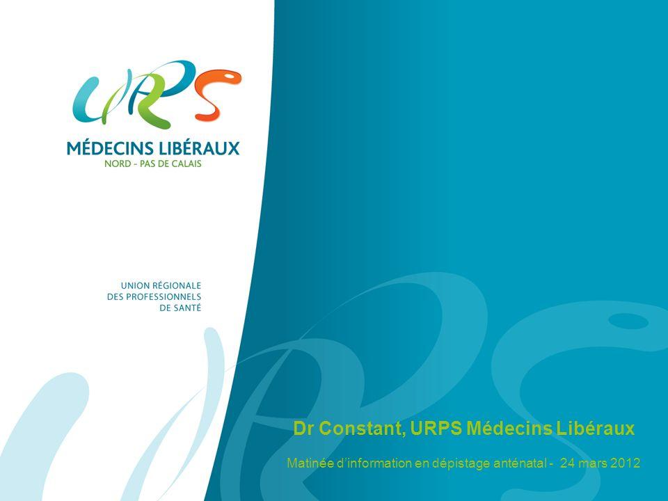 Dr Constant, URPS Médecins Libéraux