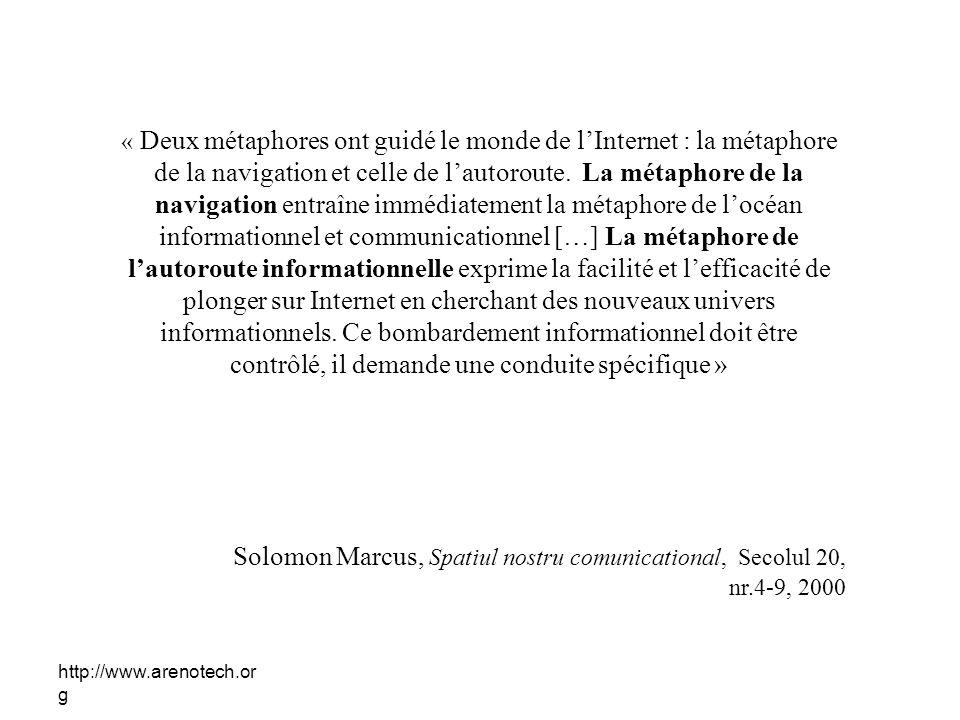 Solomon Marcus, Spatiul nostru comunicational, Secolul 20,