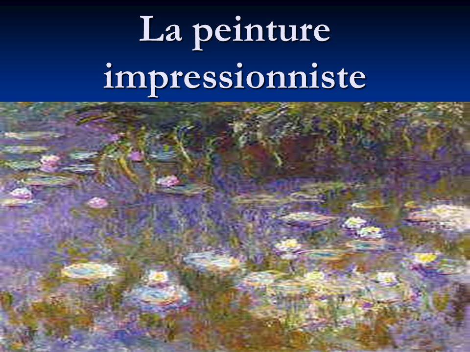 La peinture impressionniste