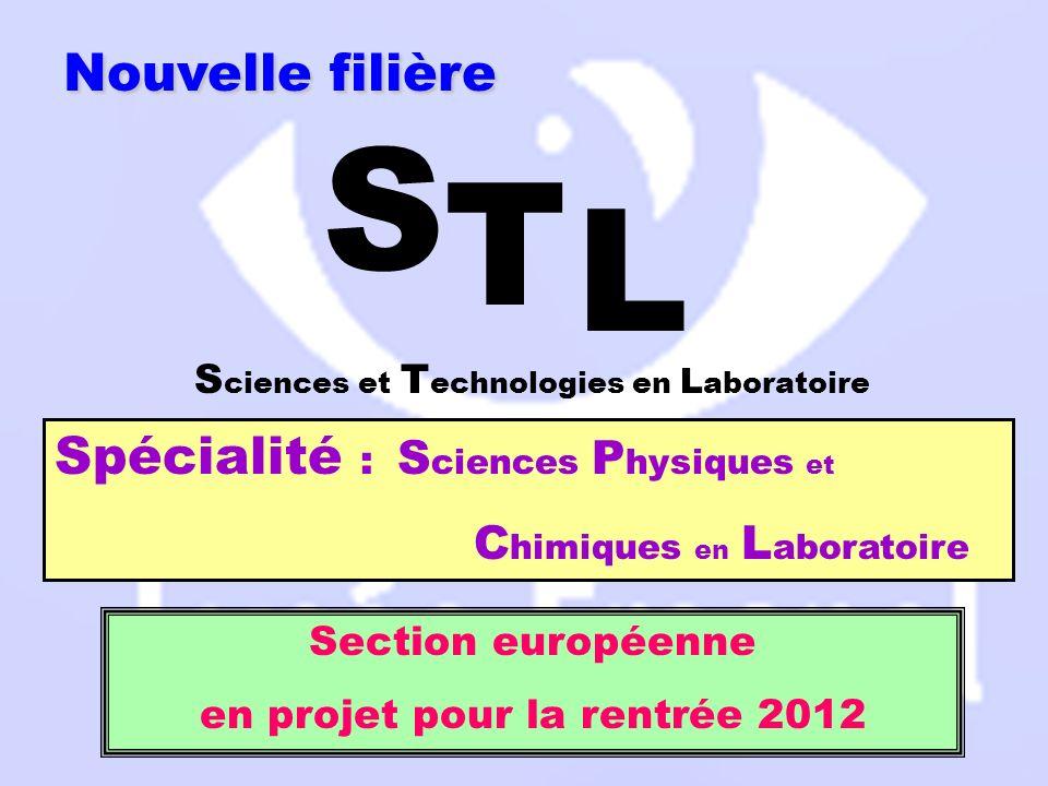en projet pour la rentrée 2012
