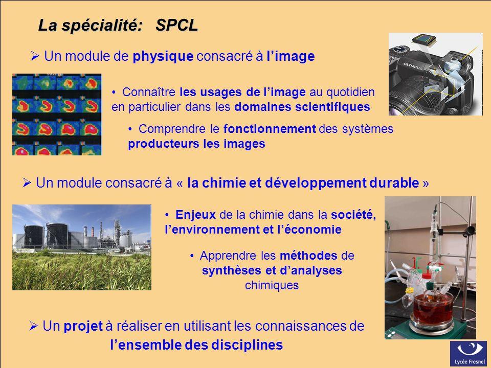 Apprendre les méthodes de synthèses et d'analyses chimiques