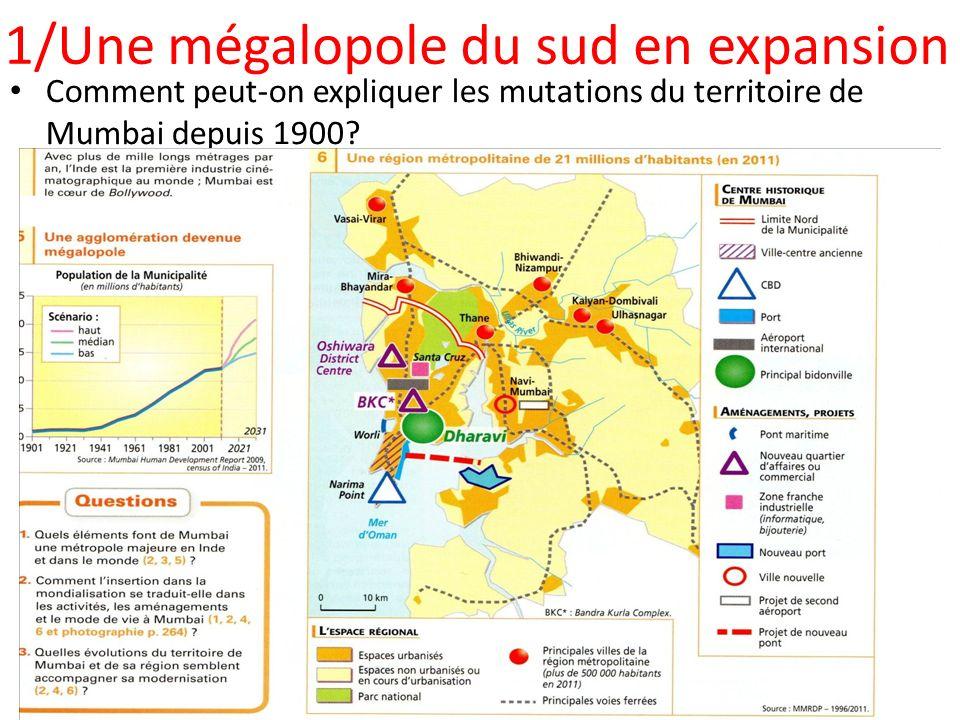 1/Une mégalopole du sud en expansion
