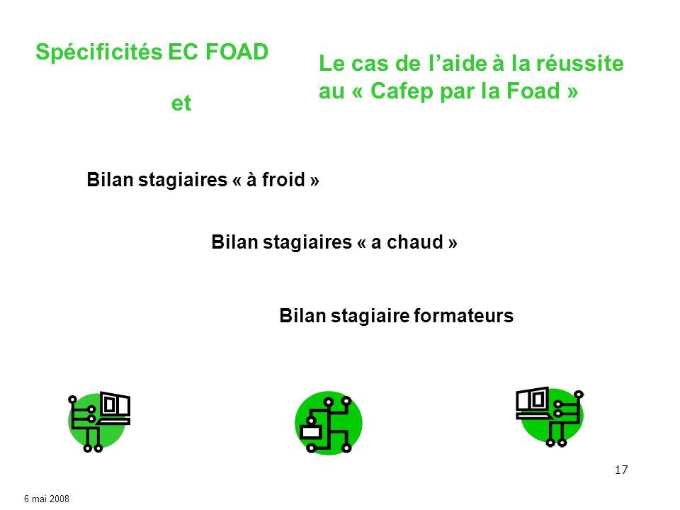 Aide à la réussite au CAFEP par la FOAD