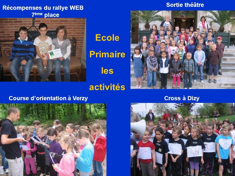 Ecole Primaire les activités