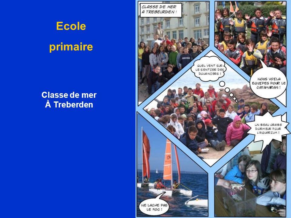 Ecole primaire Classe de mer À Treberden