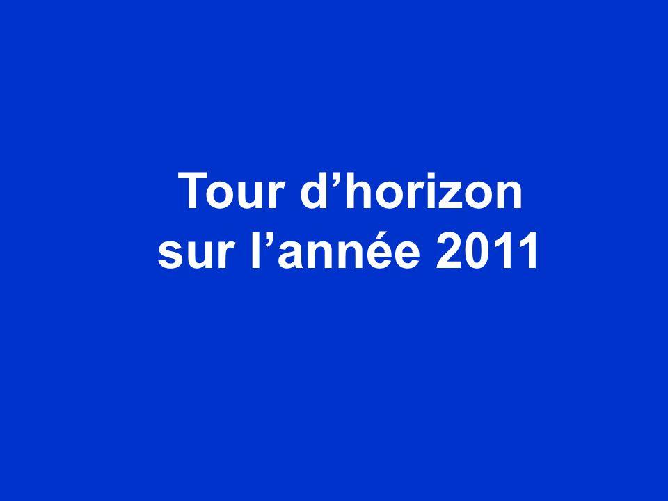Tour d'horizon sur l'année 2011