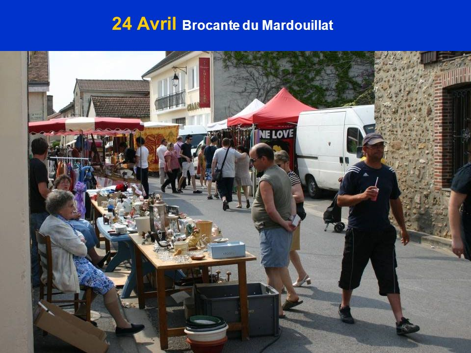 24 Avril Brocante du Mardouillat