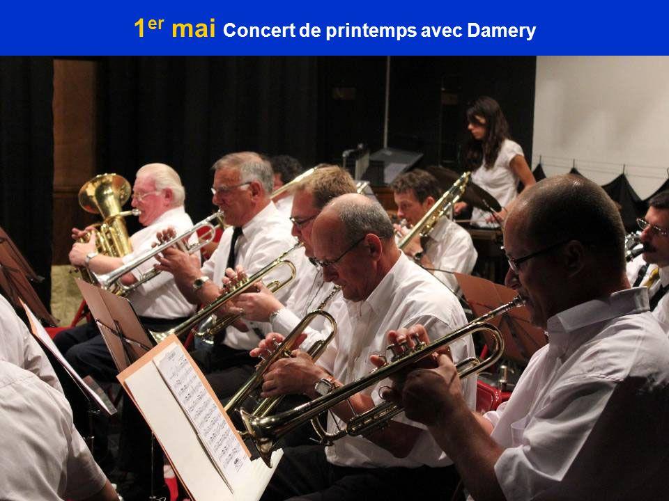 1er mai Concert de printemps avec Damery