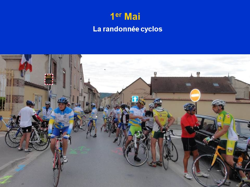 1er Mai La randonnée cyclos