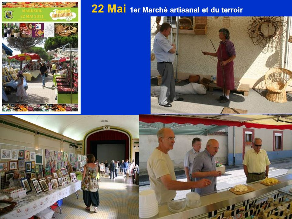 22 Mai 1er Marché artisanal et du terroir