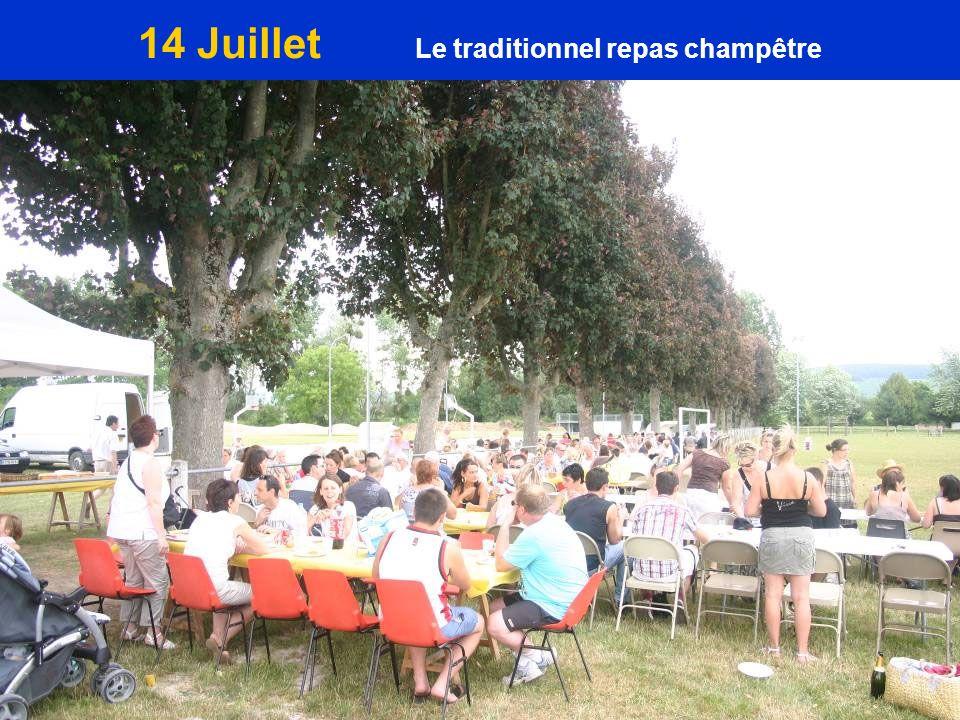 14 Juillet Le traditionnel repas champêtre