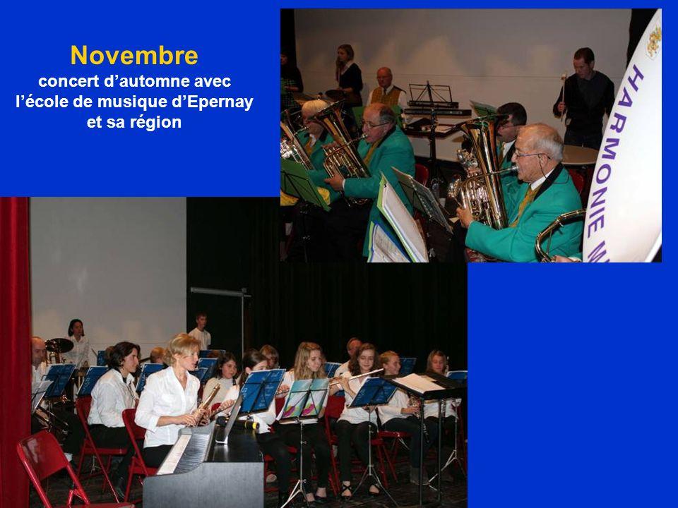 concert d'automne avec l'école de musique d'Epernay