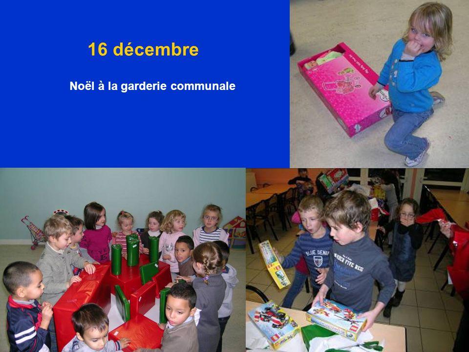 16 décembre Noël à la garderie communale
