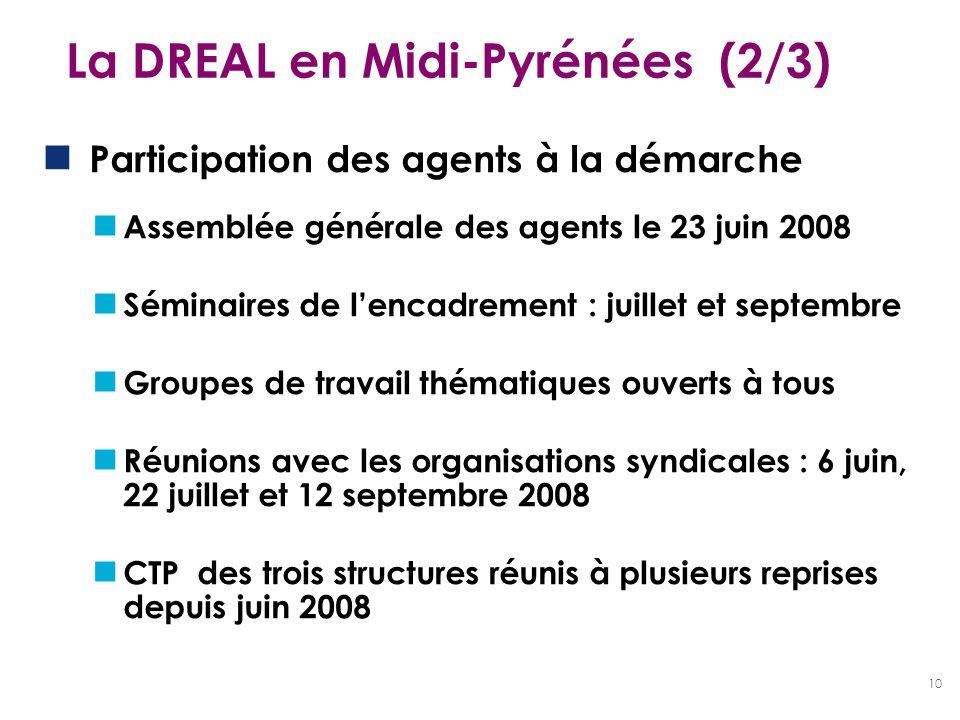 La DREAL en Midi-Pyrénées (2/3)