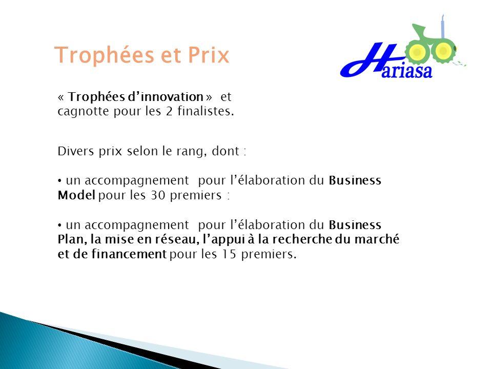 Trophées et Prix « Trophées d'innovation » et