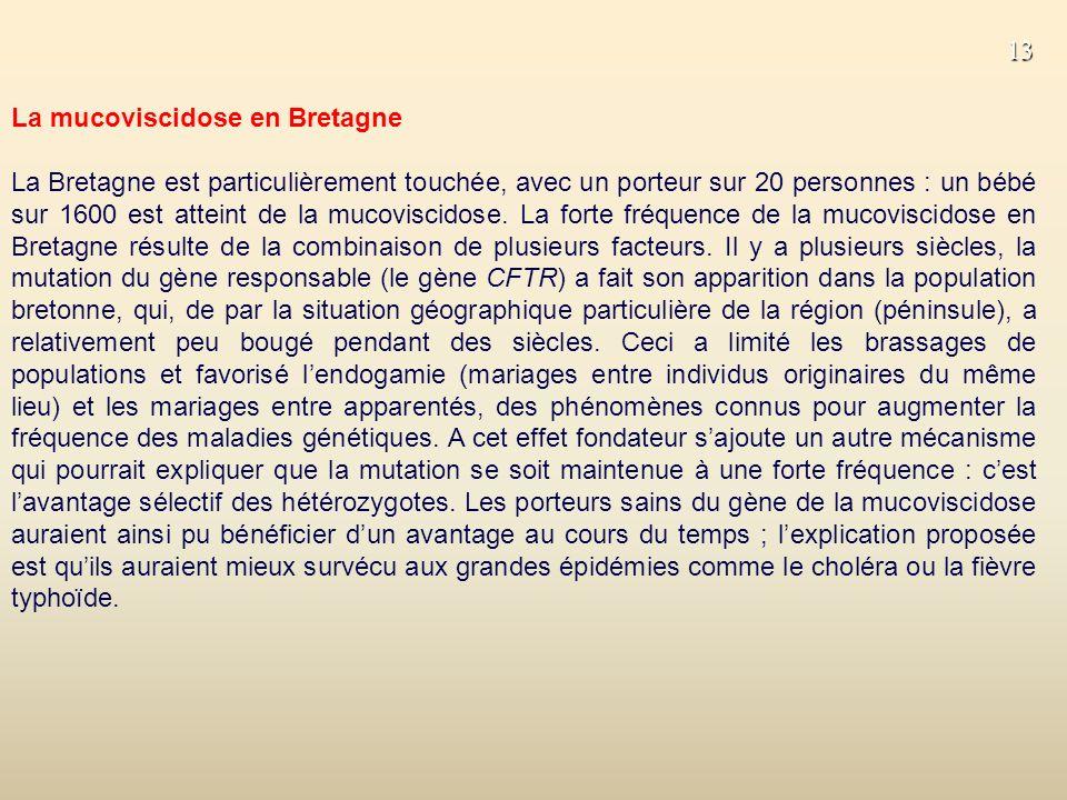 La mucoviscidose en Bretagne