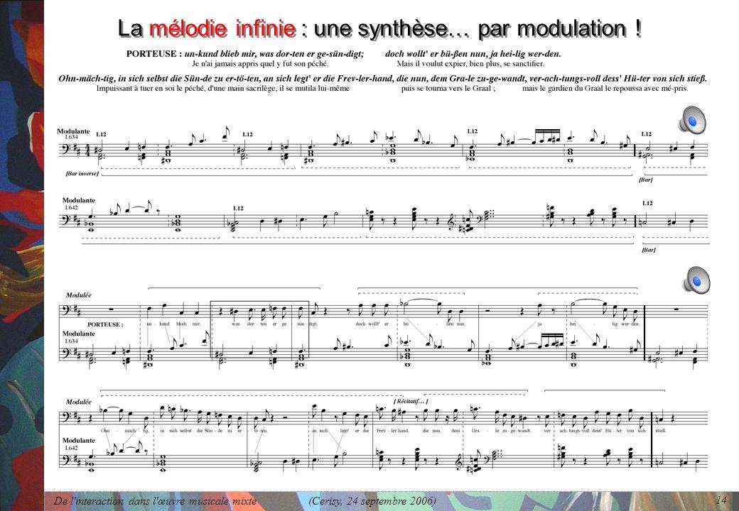 La mélodie infinie : une synthèse… par modulation !