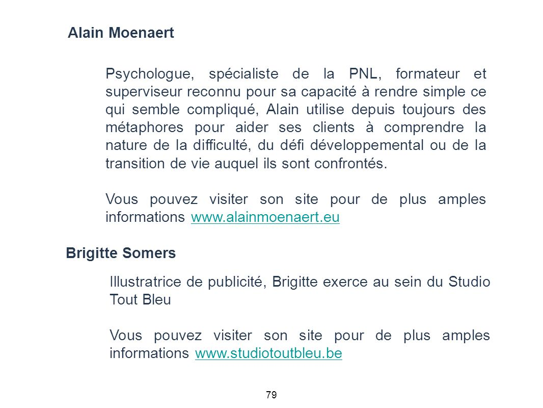 Alain Moenaert Brigitte Somers