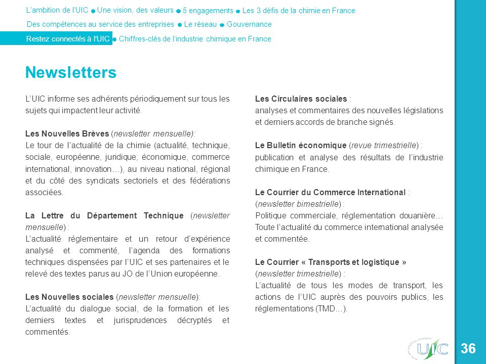 Newsletters Les Circulaires sociales :