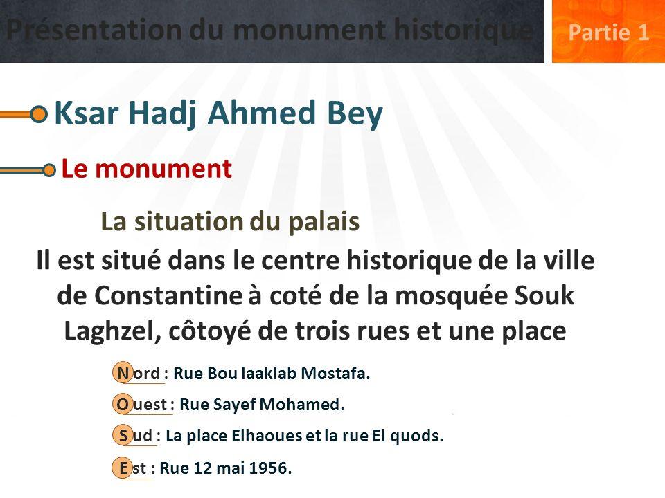Ksar Hadj Ahmed Bey Présentation du monument historique Le monument