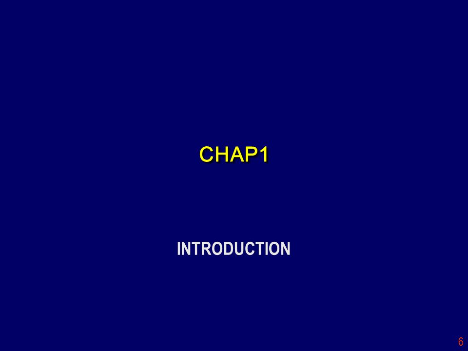 CHAP1 INTRODUCTION